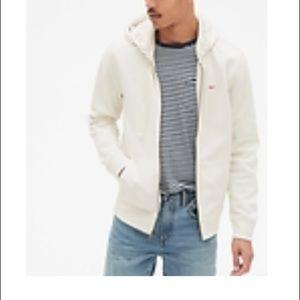 GAP Full zip logo hoodie